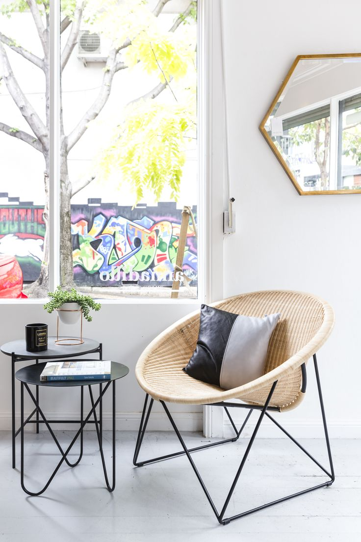 The C317 chair by Feelgood Designs sings when paired with these these assorted side tables, the Mabel and the Ando.