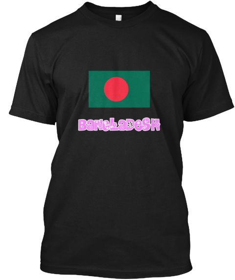 Bangladesh Flag Pink Flower Design Black T-Shirt Front - This is the perfect gift for someone who loves Bangladesh. Thank you for visiting my page (Related terms: I Heart Bangladesh,Bangladesh,Bangladeshi,Bangladesh Travel,I Love My Country,Bangladesh Flag, Bangl #Bangladesh, #Bangladeshshirts...)