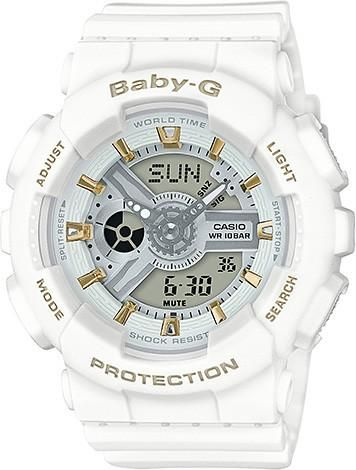 Casio Ladies Baby-G Matte x Metallic Series Watch BA-110GA-7A1 (BA110GA7A1) - Watch Centre