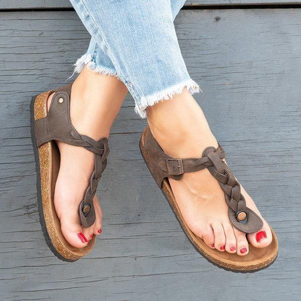 0a35c58a9 Women Sandals Casual Flip Flops Beach Shoes in 2019