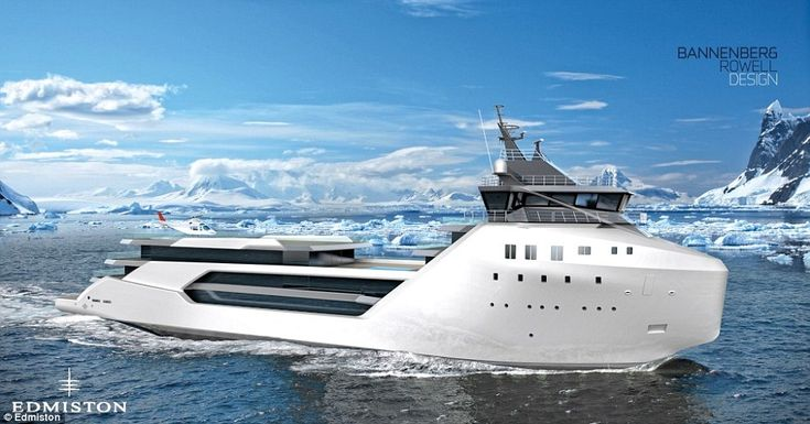 Dubbed VARD 1-08 Kilkea, this elegant yacht is based on the supply vessel platform that tr...