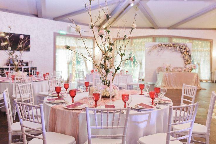 pink wedding розовый декор