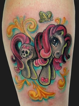 Tattoos - Katelyn Crane - My Little Pony Tattoo