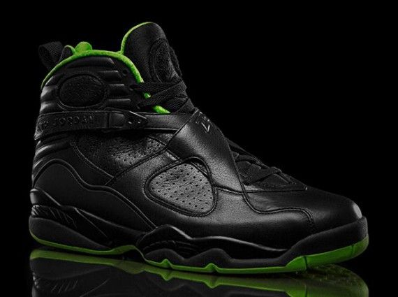"Air Jordan VIII ""Black/Neon Green"" Collection"