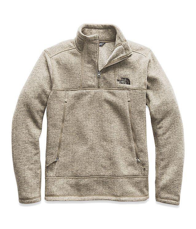Men S Gordon Lyons 1 4 Zip Pullover The North Face In 2020 Mens Vest Jacket Mens Outfits Mens Fleece
