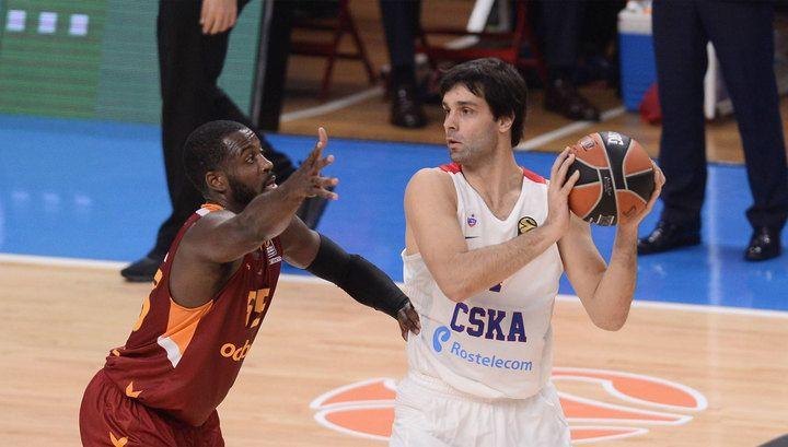 Баскетболисты ЦСКА стартовали в Евролиги с победы над «Галатасараем» | 24инфо.рф
