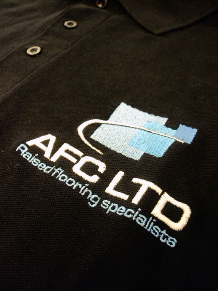 Embroidered Polo Shirts for AFC Ltd by Minuteman Press Nottingham