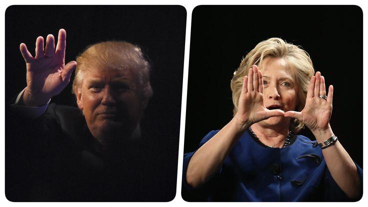 دلهرههای بیپایان ترامپ و کلینتون؛ در هفته سرنوشت