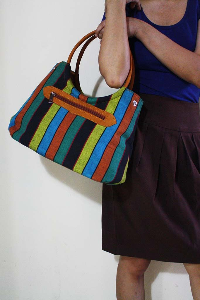 Tyas Rainbow Lurik Bag - Djokdja Batik and Handicraft