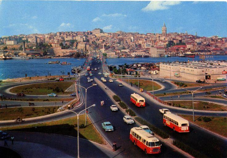 Unkapanı Köprüsü – 1962 İstanbul