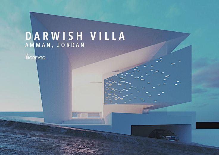 Darwish Villa Amman, Jordan Conceptual approved...   #creato #villa #luxe #Jordan #facades  #architecture  #contemporary  #modern    contacto@creatoarquitectos.com