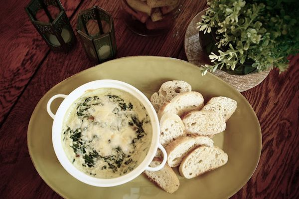 Post image for Baked Spinach & Bacon Dip — Great Super Bowl Snack!