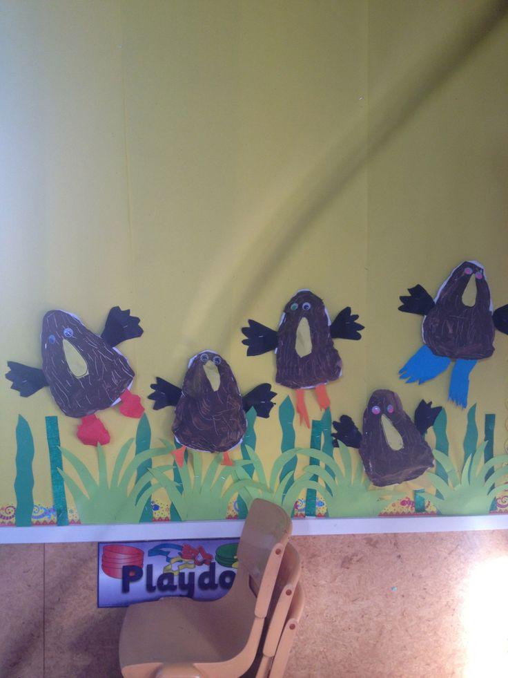 Kiwi bird art