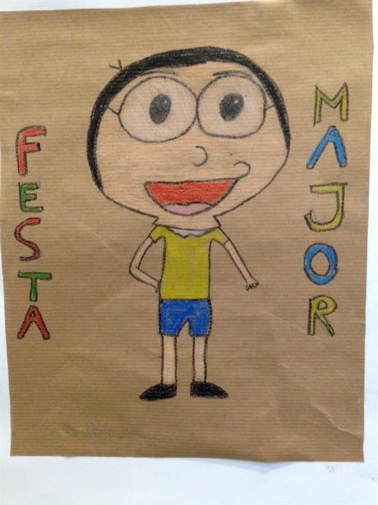 LA MERCÈ- Material: cartolina, pintura - Nivell: CM 4PRIM 2015/16 Escola Pia Balmes