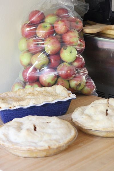 Mmm...is for Mommy: Annapolis Valley Apple Pies - Momma's Ol' School Pastry School