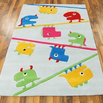 Kids 4122/65 Little Monsters Rugs - buy online at Modern Rugs UK