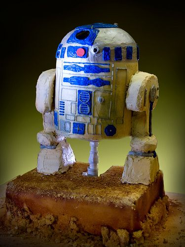Desiree 39 s r2 d2 cake learn how to decorate cakes visit for Abc cake decoration