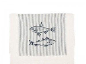 Ręcznik kuchenny / ściereczka FISH Clayre