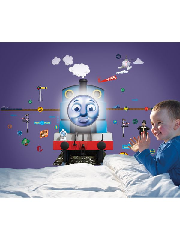 Thomas And Friends Safe N Sound Lumiglow Comfort Light And Wall Stickers ·  Train ... Part 63