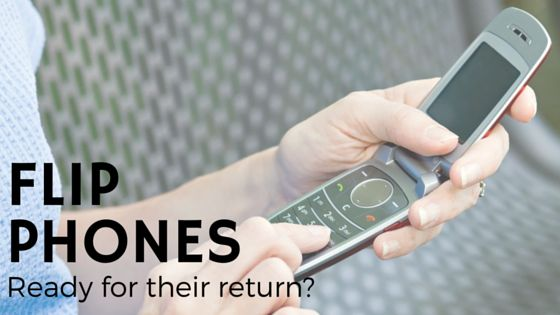 Could flip phones make a return in 2016? - UnlockUnit Blog