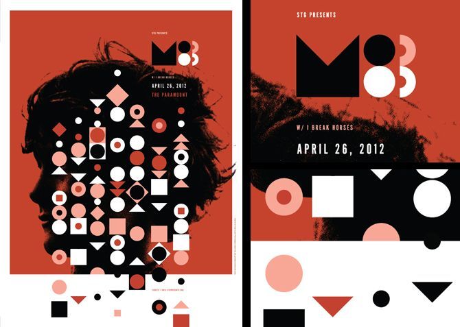 M83 poster by Invisible Creature