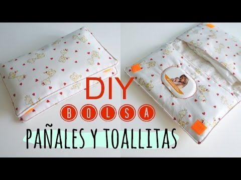 804cbac4b Bolsa para los pañales y toallitas del bebé | Manualidades | confección |  Toallitas bebe, Pañales bebe y Guardar pañales