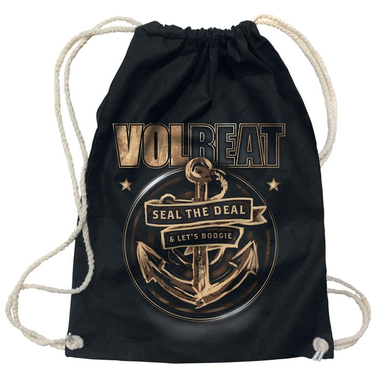 """Sacca sportiva """"Anchor"""" dei #Volbeat."""