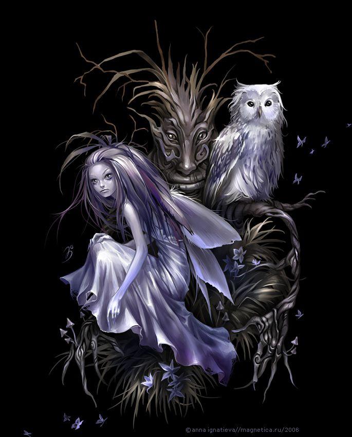 что картинки эльфы и ведьмы обнял девушку гладит
