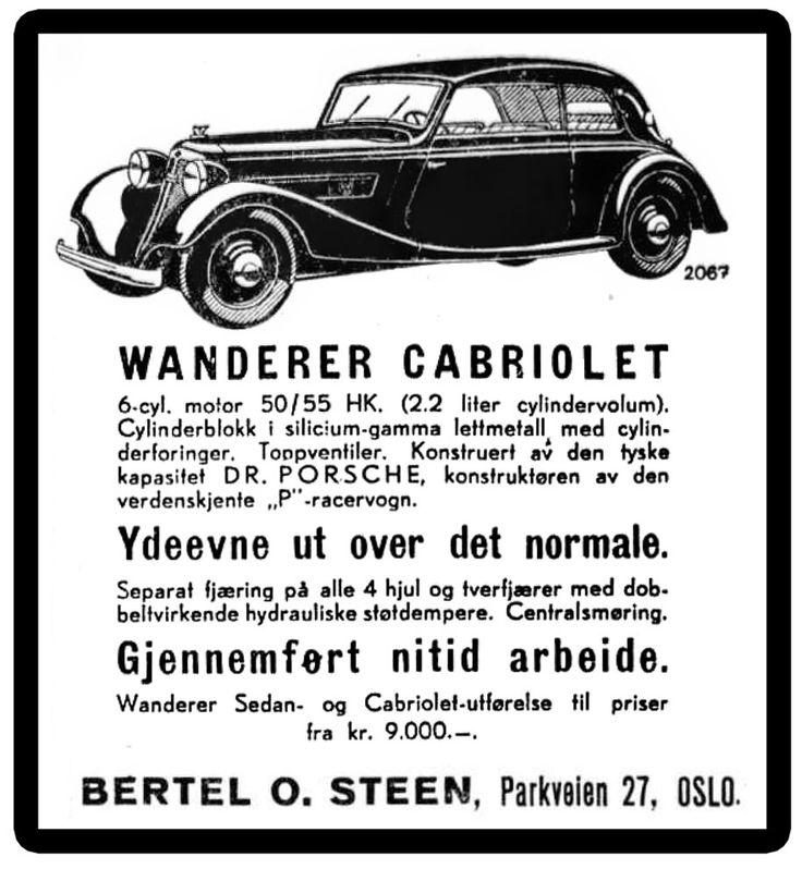 1936 Wanderer advert