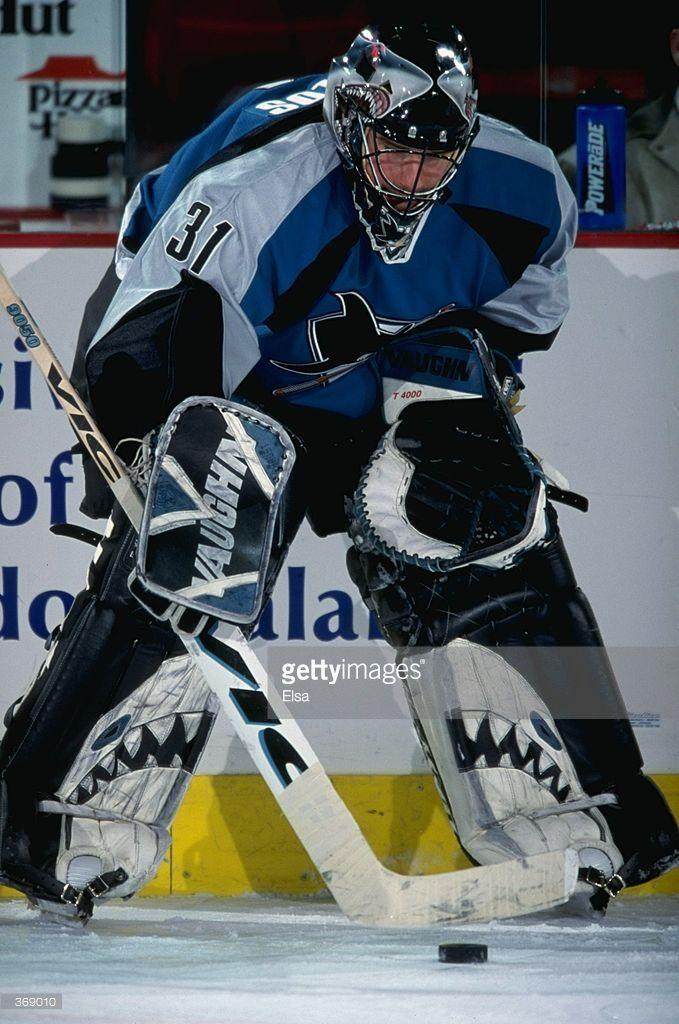 Pin by Big Daddy on San Jose Sharks Goalies Ice hockey