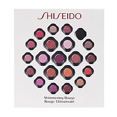 Shiseido Shimmering Rouge Lipstick (NEW Seven shades included) - 0.04 oz / 1.4 g (packette sample size)
