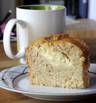 Cream cheese filled banana bundt cake. Sounds good to me!