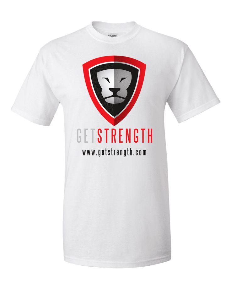 Getstrength T-Shirt (White) – Light