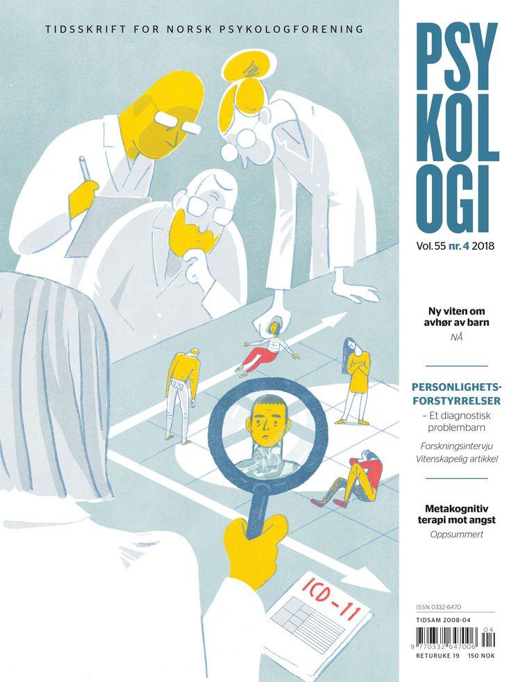 Tidsskrift for Norsk psykologforening - Hjelpen er skremmende langt unna