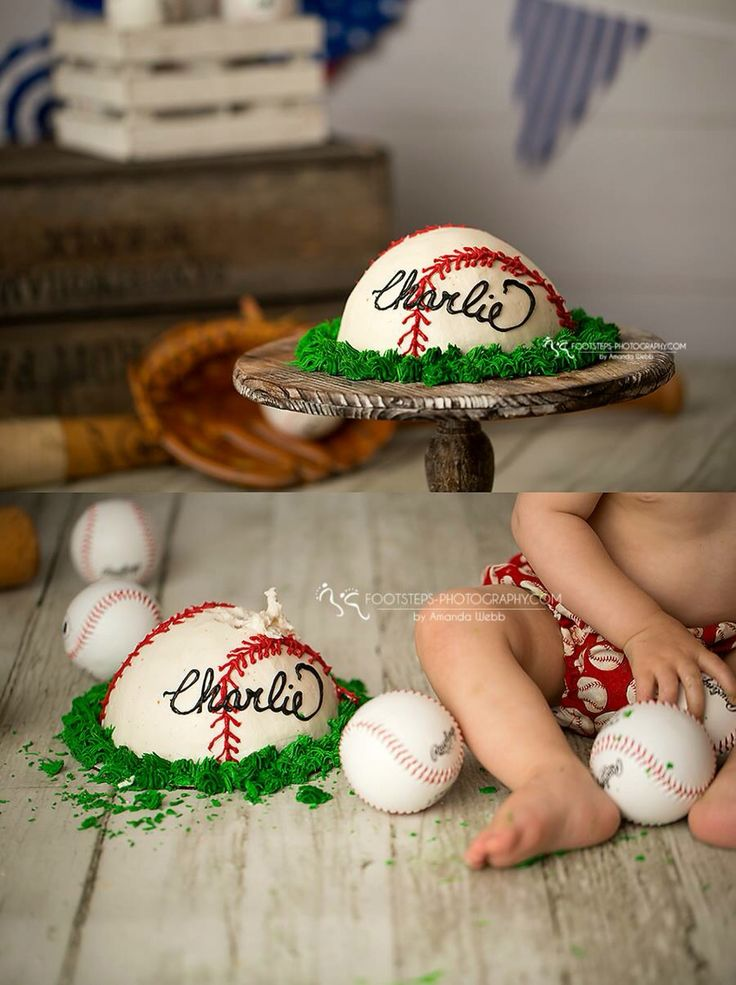 Baseball Smash Cake Https M Facebook Com Pages Bak N