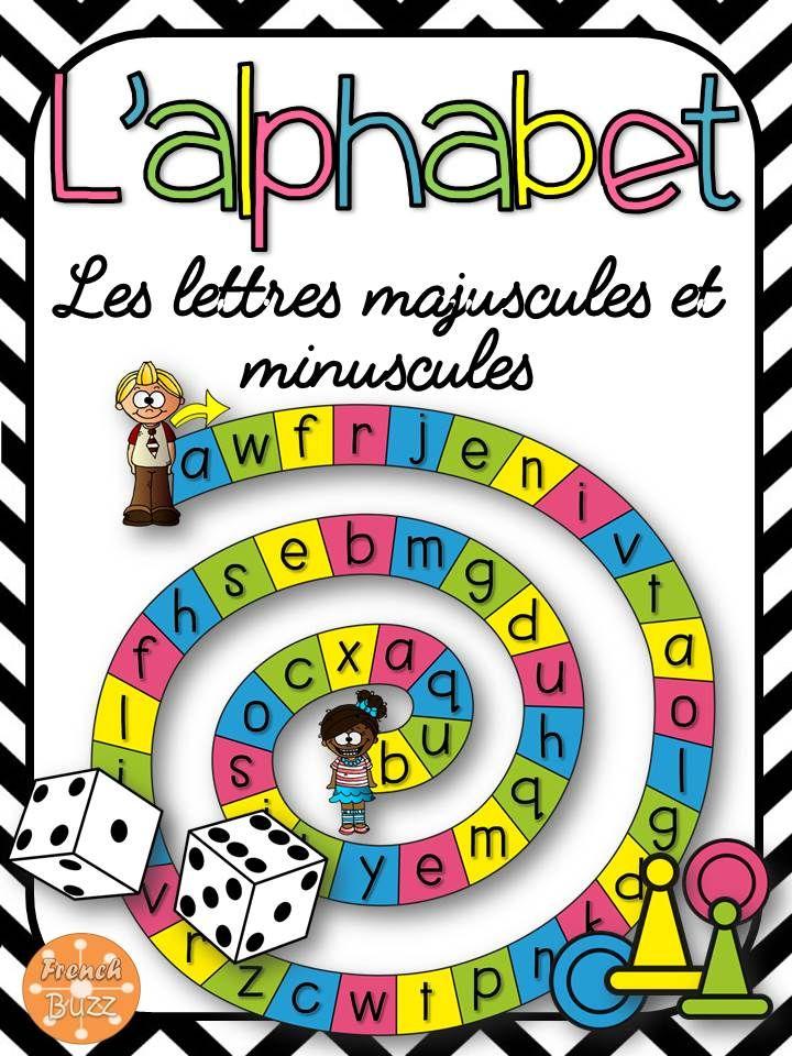 L 39 alphabet 3 jeux de soci t pour pratiquer l - Alphabet francais maternelle ...