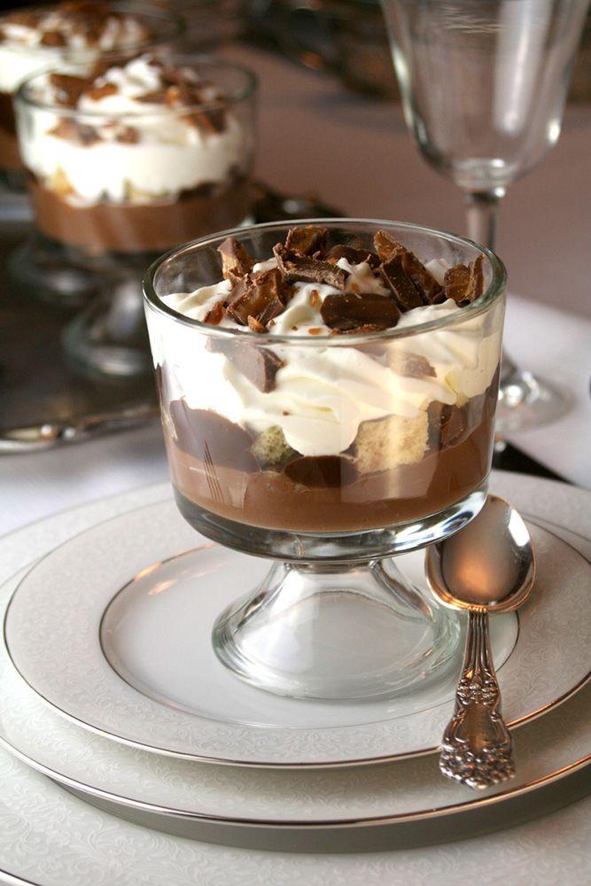 <span>Triffle de chocolate y dulce de leche. </span></p>