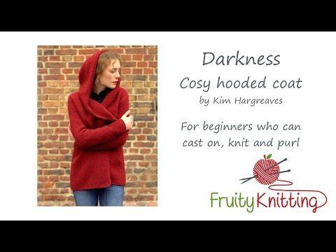 Fruity Knitting Tutorial - Darkness Coat - YouTube