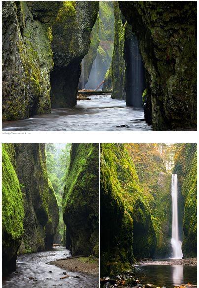 Oneonta Gorge, Oregon uploaded by www.catamkla.com