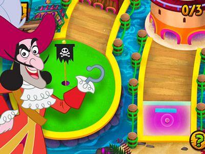 Joue au mini golf pirate avec jake et les pirates du pays imaginaire projets de classe - Jake et les pirates ...