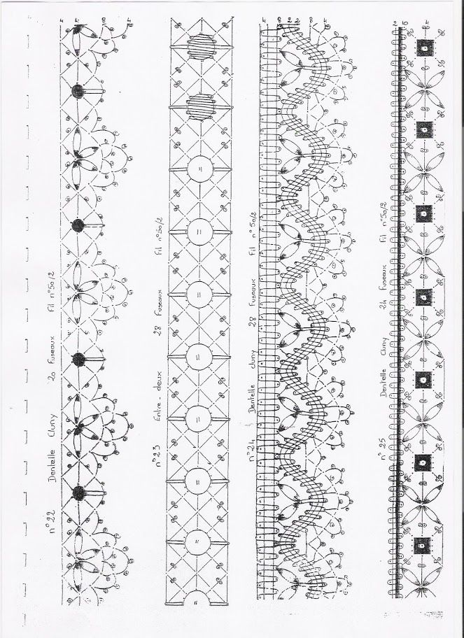 """apuntes - rosi ramos - Picasa Web Albums---***Mi way: Could b used as template to make lace bracelets using a glue gun. Lay under wax paper, """"trace"""" the design, then adorn as u like with beads, gems, sparkle, etc."""