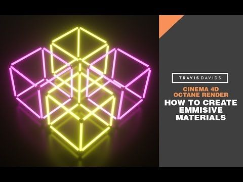 Octane Render + Cinema 4D - How To Create Emmisive Materials - YouTube