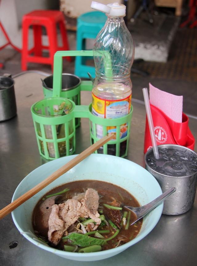 Thai Boat Noodles at Saphan Taksin BTS Station