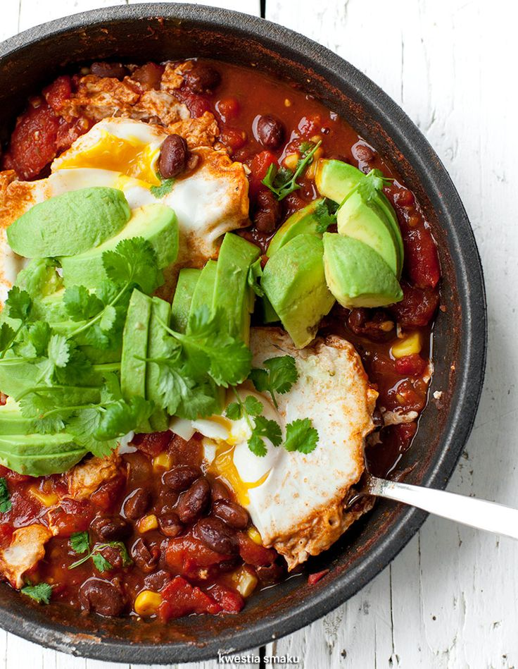 Shakshuka with Mexican Twist