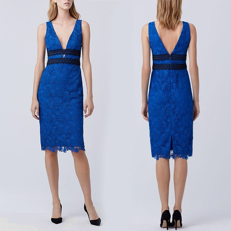 2016 Women Clothing summer dresses patterns cheap blue lace dress