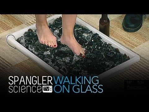 Walking on Glass - Cool Science Experiment - YouTube