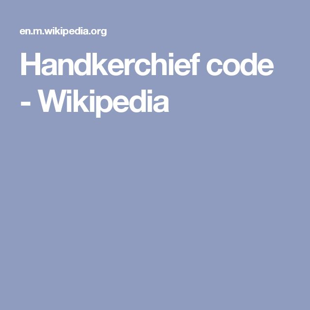 Handkerchief code - Wikipedia... There are emails to and from John Podesta talking about Pizza handkerchiefs.