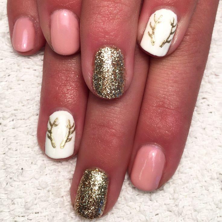 deer nails ideas