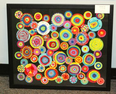 1000 images about large group art projects on pinterest for Group craft projects for adults
