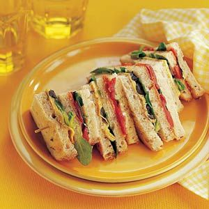 Recept - Spaanse clubsandwich met chorizo en omelet - Allerhande